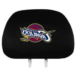 Pair of Cleveland Cavaliers Head Rest Covers - NEW! NBA Truc