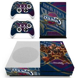 XBOX ONE S - Cleveland Cavaliers - Vinyl Skin + 2 Controller